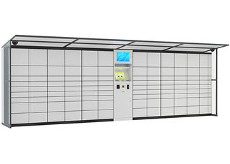 China Intelligent Logistic Parcel Delivery Lockers , SMS Sending System Coin Operated Lockers factory
