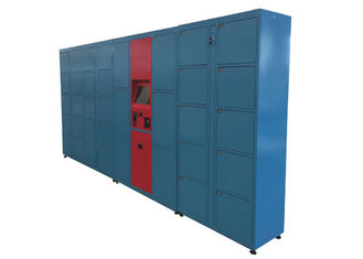 China Pincode Barcode Luggage Rental Luggage Lockers Systems for Airport / Park / Gym factory