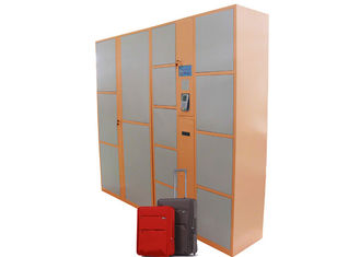 China Airport Station Luggage Safe Electronic Storage Container Rental Locker Password Card Operated factory