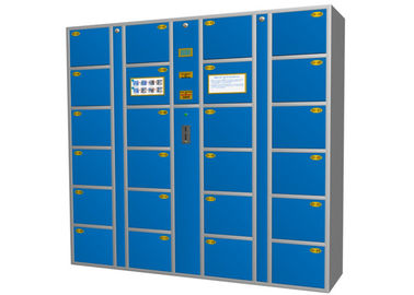 China Supermarket / Airport Luggage Personnel Lockers Solutions ,  CE Electronic Commercial Locker factory
