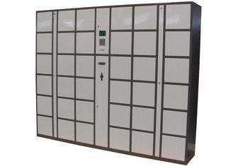 China Steel Electronic Luggage Lockers Box Station with 36 Doors Large Size Smart Cards Integrated factory