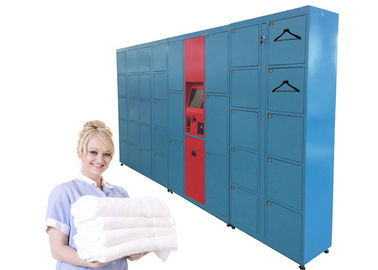 China Intelligent Sending SMS Message Laundry Locker , Self-Service Locker Delivery Service  Equipment factory