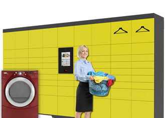 China Self Service Intelligent Digital Laundry Locker with SMS Message Sending Indoor factory