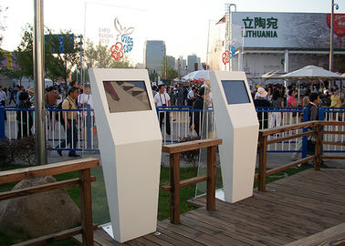 China Advertising Display Outdoor Information Kiosk , Self Service High Brightness Kiosk Touch Screen Monitor factory