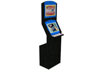 China Information Inquiry LCD Digital Signage Touch Screen Kiosk Floor Standing factory