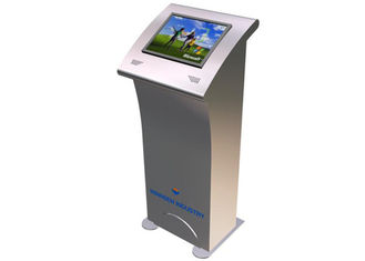 China Public Tourism Information LCD Touch Screen Kiosk Device for Train Station / Park factory