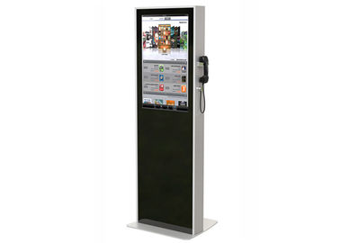 China 32 Inch Interactive LCD Digital Signage , Semi Outdoor Digital Signage Kiosks Machine factory