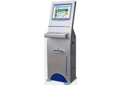 China Metal Keyboard 	LCD Digital Signage Touch Screen Information Kiosk for Train Station factory
