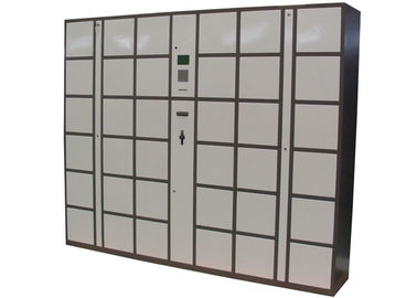 China 36 Doors Barcode Luggage Lockers , Automatic High School / Student Swimming Pool Lockers factory