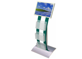 China Open Source Digital Signage with Brochure Holder , Indoor Plug & Play LCD Advertising Screens Display factory