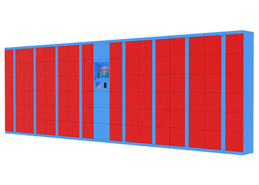 China Indoor Secured Electronic Smart Parcel Locker , Package Lockers Device for Deposit / Receiving Office factory