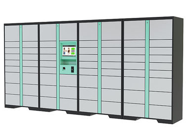 China Wireless Monitoring Delivery Parcel Collection Lockers with Secured Electronic Locker System factory