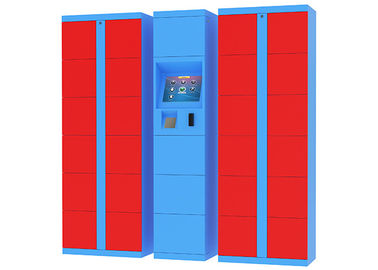 China Intelligent Outdoor Fresh Food Parcel Delivery Lockers with Remote Control Option factory