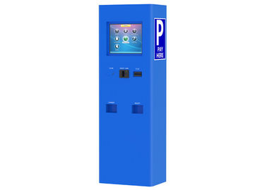 China Parks Outdoor Waterproof Kiosk Machine Self Service Cash / Credit Card Payment factory