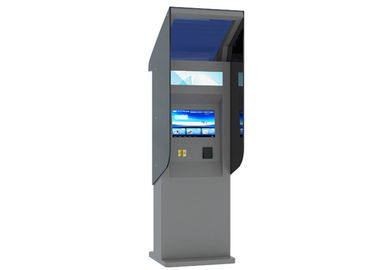 China High Brightness Touch Screen Waterproof Kiosk with Banknote / Card Reader 24 Hours Outdoor factory