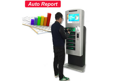 China Electronics Charging Station Mobile Charge Kiosk Auto Report Function Wifi Connection factory
