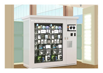 China Airport Hospital College Automated Vending Kiosk Machine Adjustable Channel factory