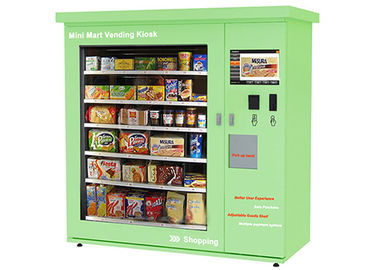 China Touch Screen Mini Mart Vending Machine Beverage Candy Snack Food Drink Can Bottle factory