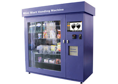 China Large Glass Window Mini Mart Vending Machine with Industrial Grade Control Board factory
