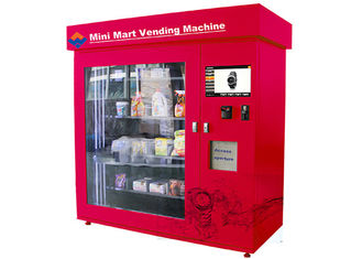 China Automatic Mini Mart Vending Machine , 19 Inch Touch Screen Adjustable Mini Mart Coin Vending Machine factory
