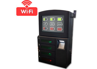 China Restaurant / Airport / Shopping Mall Wifi Cell Phone Charging Stations Lockers Kiosks factory