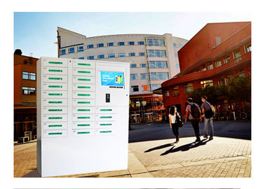 China 24 Box Cell Phone Charging Kiosk / Valet Charging Station For School University Library Vending Machine Kiosk factory