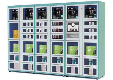 China Airport / Station Automated Vending Lockers with Remote Control Function factory