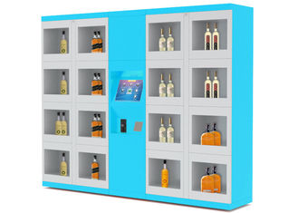 China Electronic Lockers Drink Vending Machines For Beverage / Wine / Drink Water factory