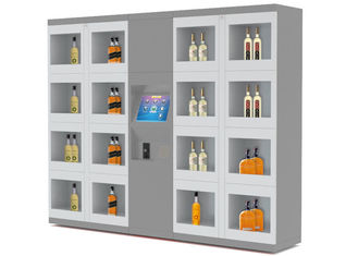 China Non - Refrigerate Electronic Vending Lockers For Self Service Shopping factory