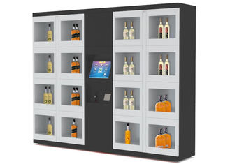 "China Fully Automatic Industrial Vending Lockers Machine with 15"" LCD Touch Screen factory"