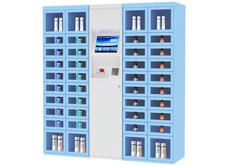 China 24 Hours Self Service Shopping Inventory Vending Machine Fully Customized Automated factory