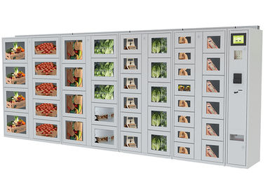 China Coin / Banknote Payment Vending Lockers With Secured Electronic Locker System factory