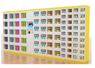 China Electronic Touch Screen Vending Lockers For Library Room / Outdoor factory