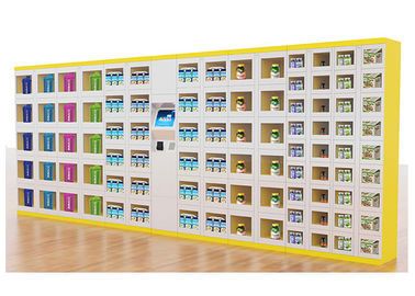 China Outdoor Drink Vending Lockers , Snack Vending Machine With Cash / Cashless Payment factory