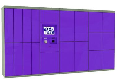 China Smart Dry Cleaning Lockers , Parcel Distribution Locker Laundry Self-Serving Cleaning Kiosk factory