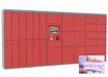 China Advanced Laundry Locker Secured Electronic Locker System 7 days Self Service Intelligent Digital factory