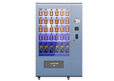 China Health Salad Vending Machine For Airport Department / Business Building Office factory