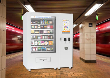 China Body Lotion Bath Products Kiosk Vending Machine for Hotel , 22 Inch Touch Screen factory