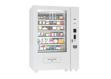 China Self service Coin Bill 	Mini Mart Vending Machine with Adjustable Goods Channel factory