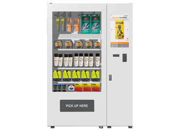 China 22 Inch LCD Display Salad Vending Machine Large Sized With Elevator System factory