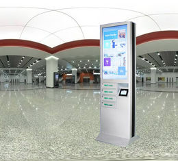 China 43 Inch Advertising Mobile Phone Charging Station With Safety Electronic Locks factory