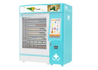 China Campus Health Wellness Medical Supply Vending Machine Kiosk With QR Code factory