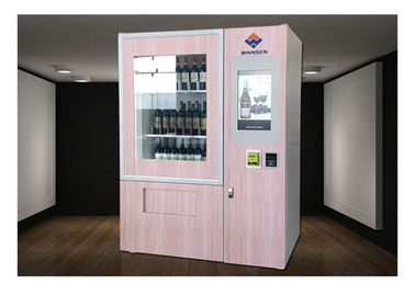China 22 Inch Touch Screen Red Wine Vending Machine , Fridge Vending Machine Automatic Selling factory
