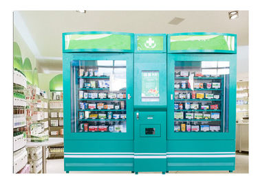 China Pharmacy Vending Machines for Sale Medicine Drugs with Ads Screen factory