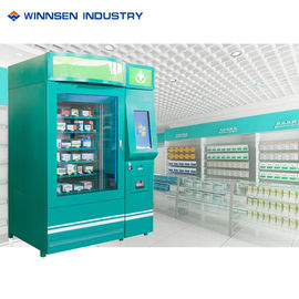 China OTC Medicines Automatic Pharmacy Vending Machine For Patient , 22 Inch LCD Screen factory