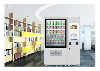 China Belt Convery Fresh Fruit Vegetables Vending Machine with Coolant Function factory