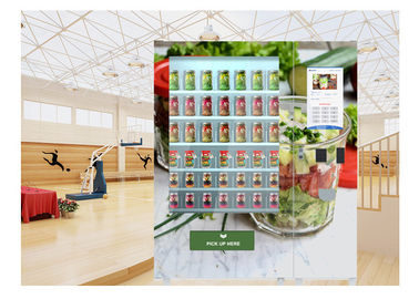China National Instant Food And Salad Vending Machine With Cooling System , Customization factory