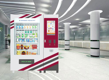 "China 22"" Touch Screen Pharmacy Vending Machine Kiosk For Indoor Use , CE / FCC factory"
