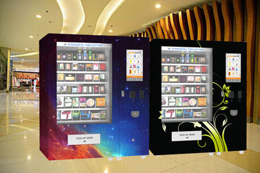 China Snack Food Vending Kiosk With Coin Bill Credit Card Payment And Remote Platform factory