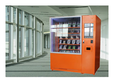 China Fresh Fruit Salad Food Vending Machine , Conveyor Belt Vending Machine With Lift factory